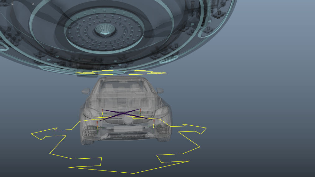Of Simple Car Rigging, Weight and Animation