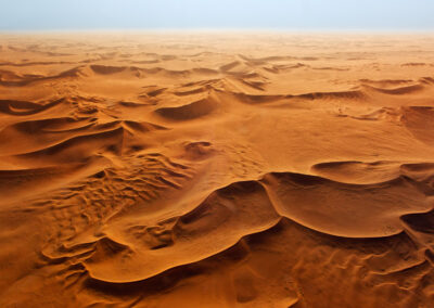 Red Dunes Skeleton Coast Areal View